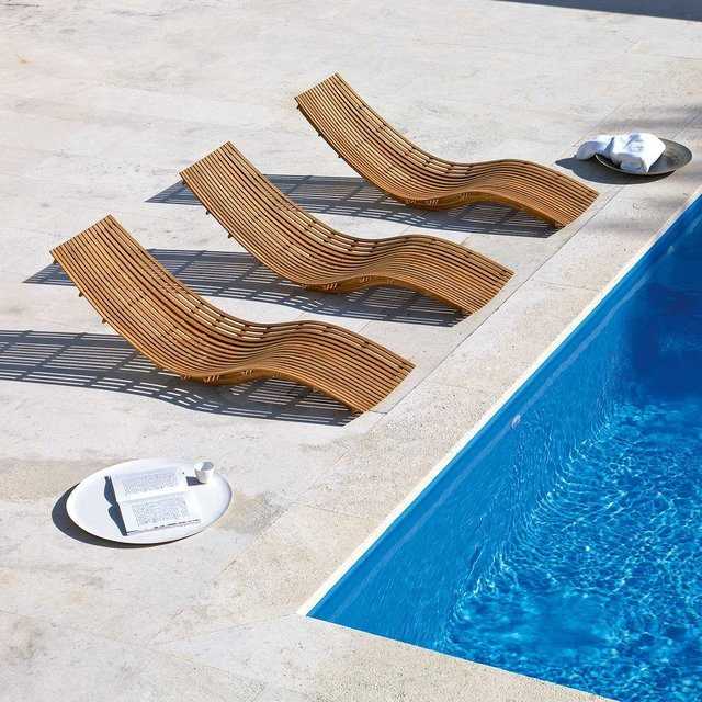 Swing Teak Chaise by Unopiu