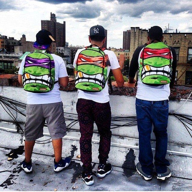 8c15d21978c Teenage Mutant Ninja Turtles Backpack by Sprayground - Petagadget