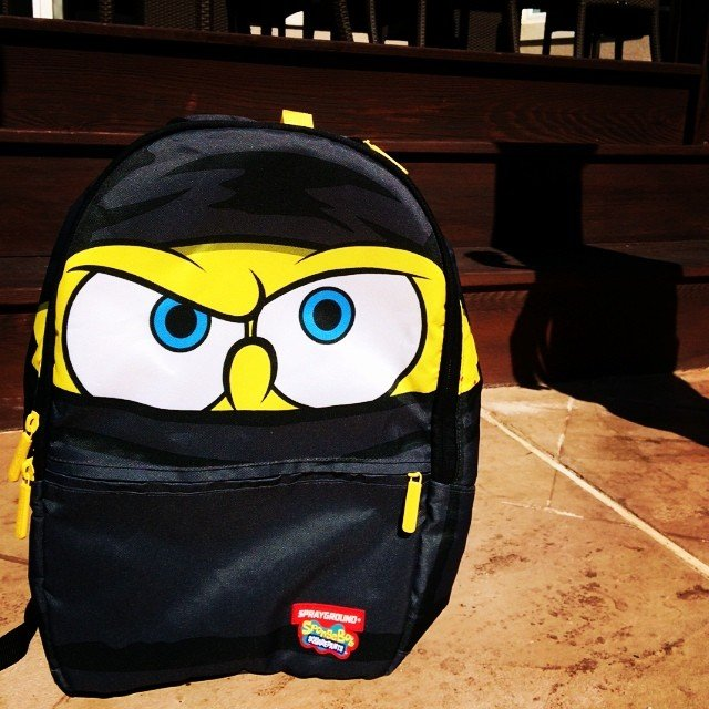 5056495c0fe The Spongebob Ninja Pants Backpack » Petagadget
