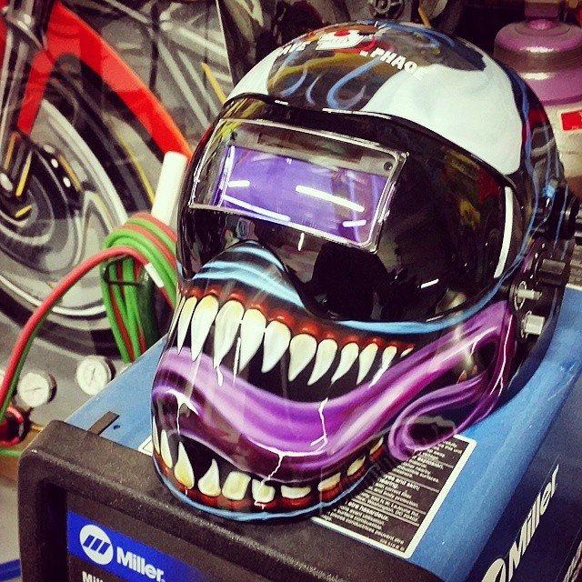 Venom Welding Mask