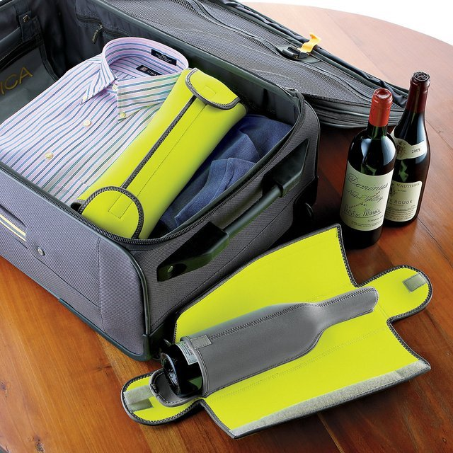 Wine Enthusiast BottleGuard Neoprene Wine Protector