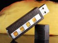 Amber Wenge USB 3.0 Flash Drive