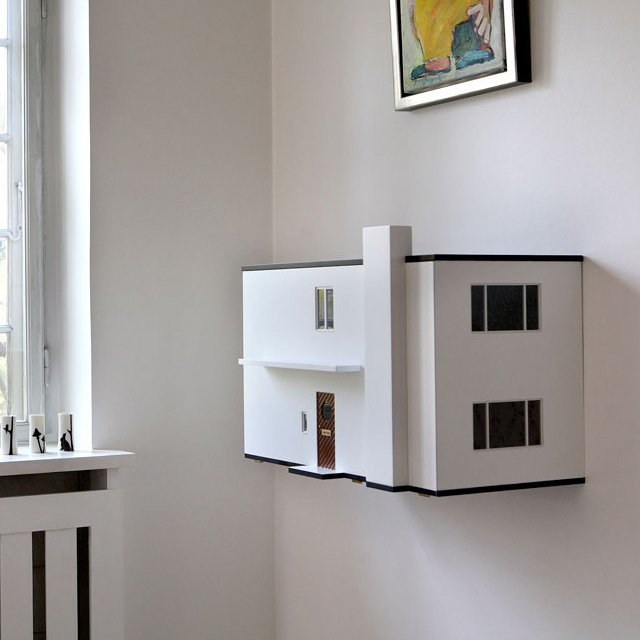 Arne Jacobsen Miniature Wall Hanging Dollhouse