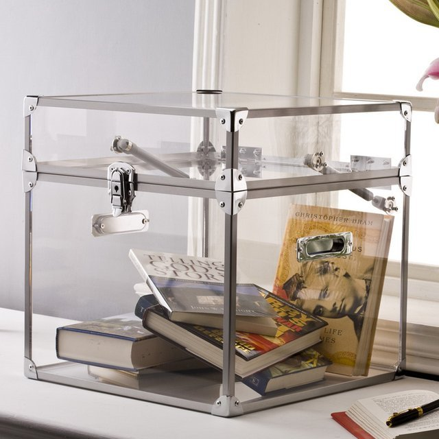 Clear Acrylic Trunk