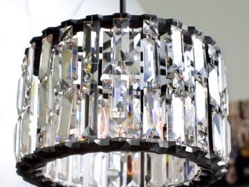 Crystal Gear Pendant by Michael McHale Designs