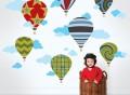 Hot Air Balloon Decals by WallCandy