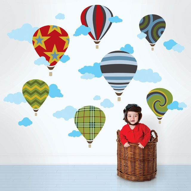 Hot Air Balloon Decals by WallCandy