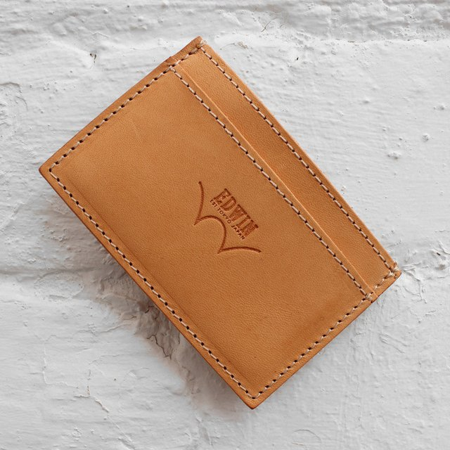 Leather Card Holder by Edwin