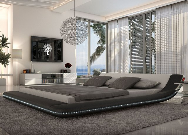 LED Platform Bed by Tosh Furniture