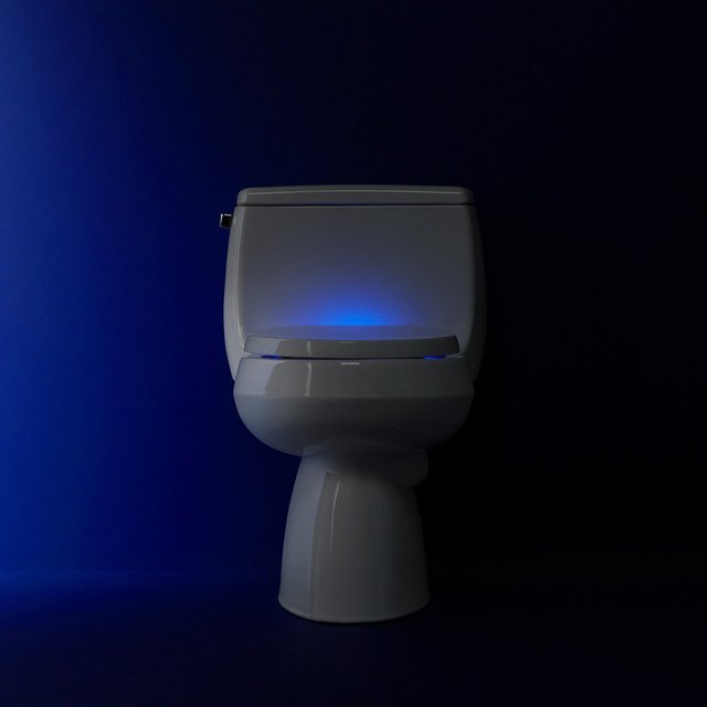 Reveal Nightlight Toilet Seat by Kohler