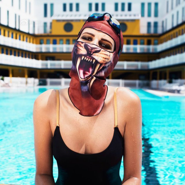 Saber Tooth UV Mask