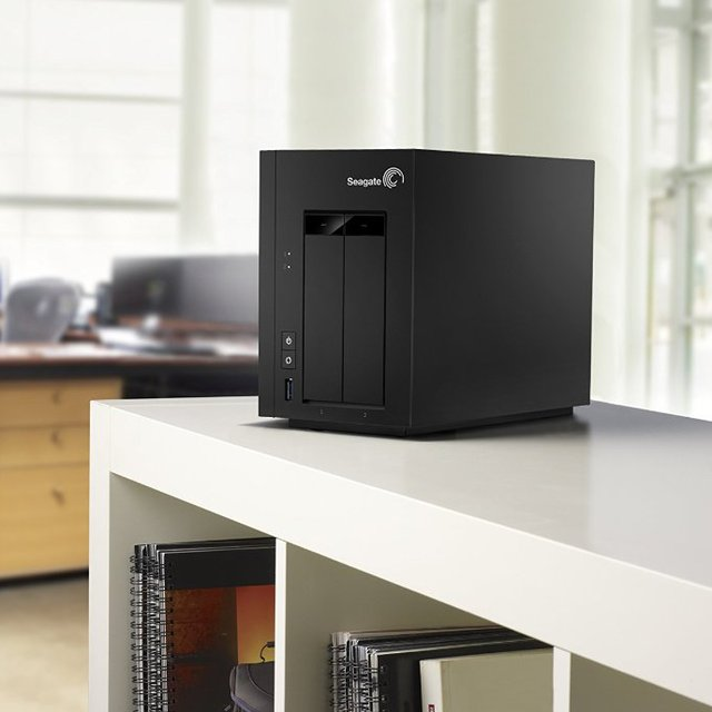 Seagate NAS 2-Bay Network Attached Storage Drive