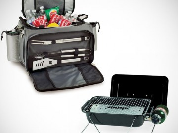 Tailgate Cooler Tote & Grill