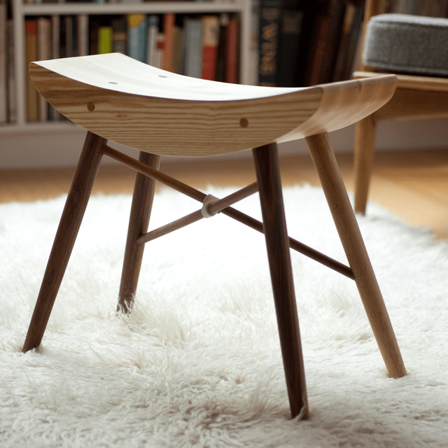 Todd Wood Stool by Urbancase