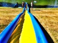 Turbo Chute Lake Water Slide