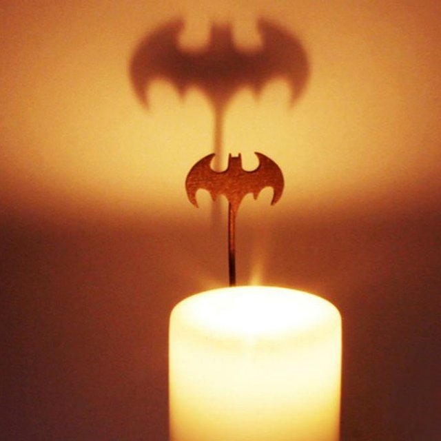 Batman Candle Attachment