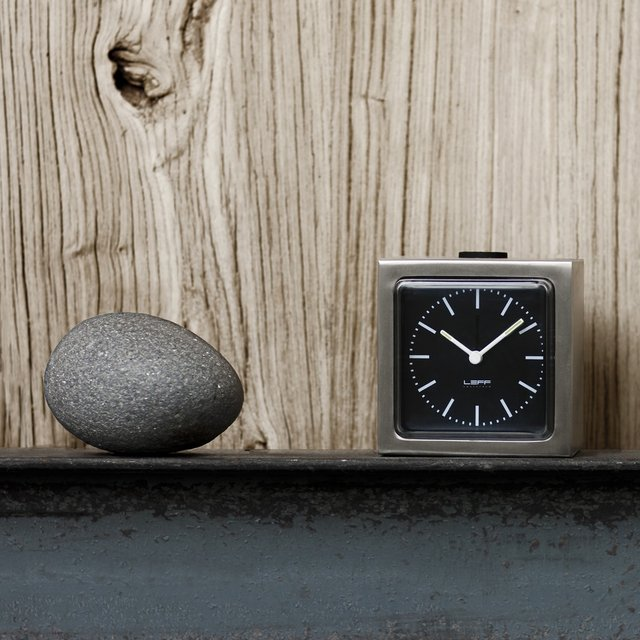 Block Clock by Leff Amsterdam