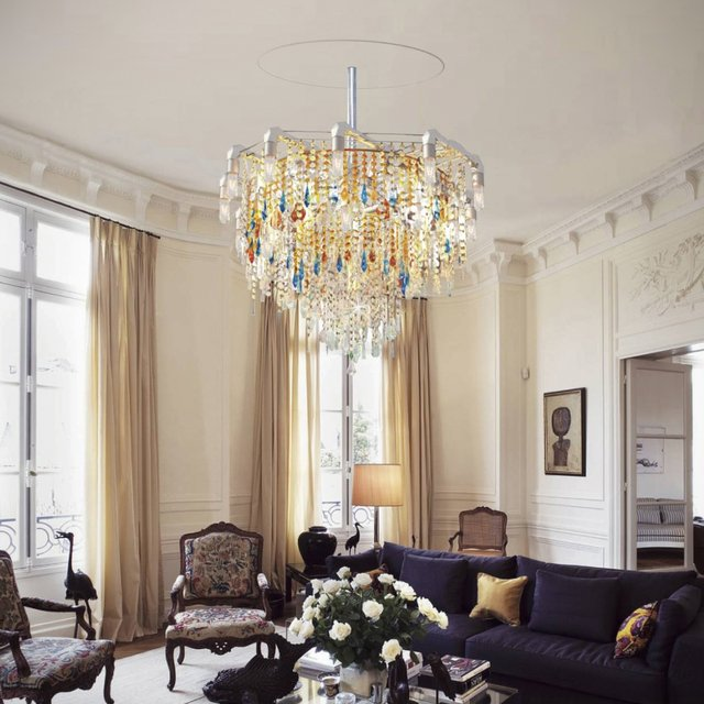 Bryce Collection Claridge Chandelier Michael McHale Designs