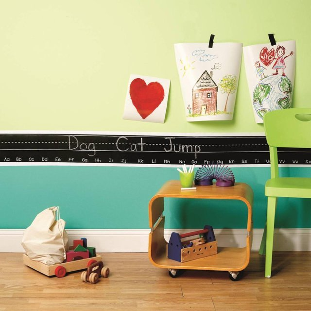 Chalkboarder Alphabet Wall Decal