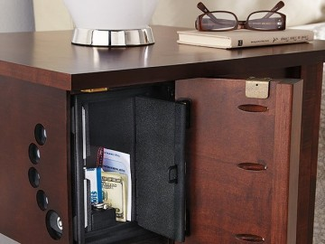 Concealed Safe Night Stand