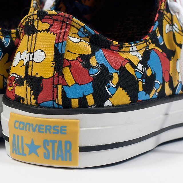 Converse X The Simpsons All-Stars