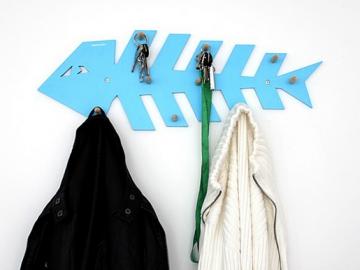 Fishbone Style Hanger Wall Hook