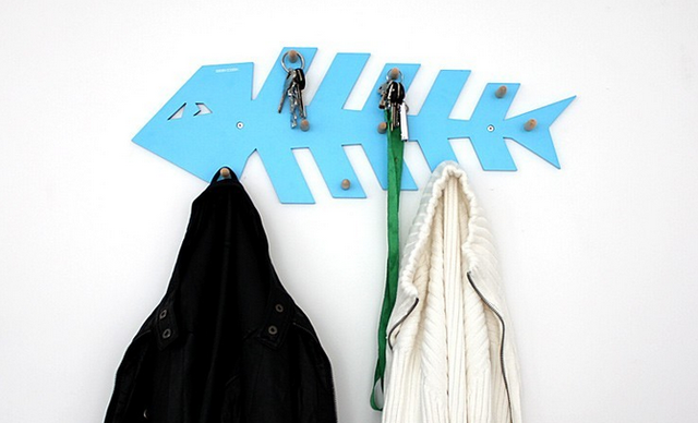 Fishbone Style Hanger Wall Hook‍