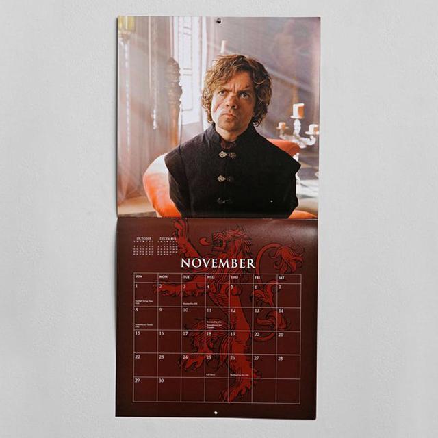 Game Of Thrones 2015 Calendar