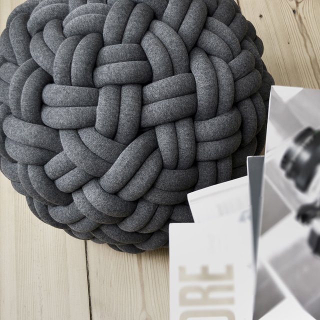 Knotty Floor Cushion by Kumeko