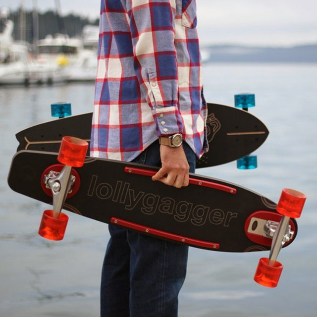 Lollygagger Longboard by Loll Designs