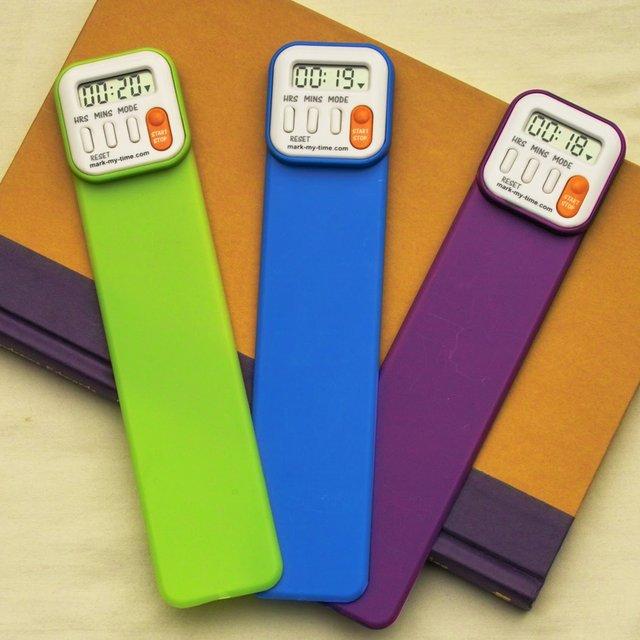 Mark-My-Time Digital Bookmark