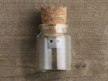Message in a Bottle USB Drive