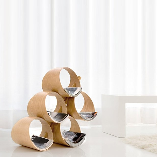 Mypil Magazine Rack 5 Containers