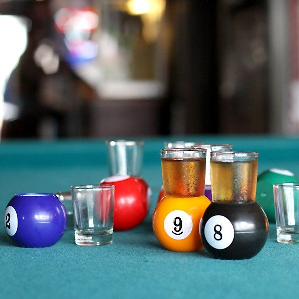 Pool Shot Glasses