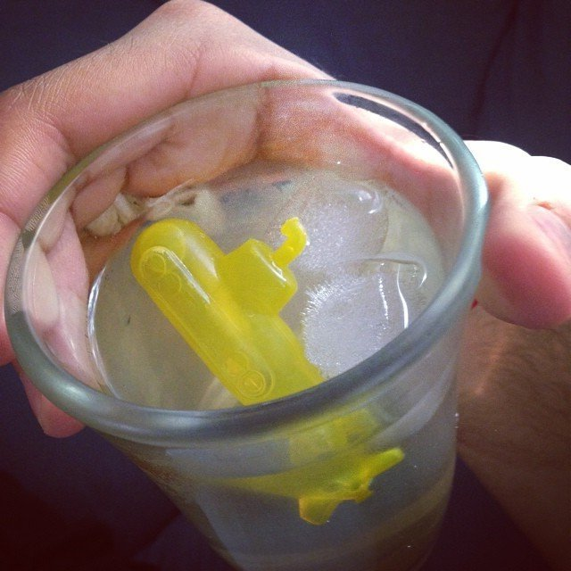 Reusable Submarine Ice Cubes