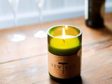 Rewined Soy Wax Candles