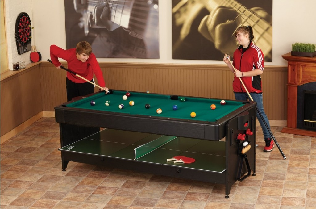 Rotating Air Hockey & Billiards & Ping Pong Table
