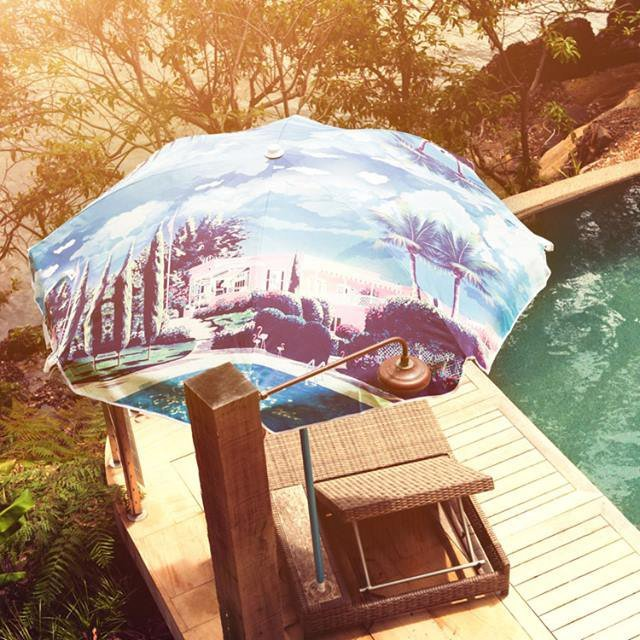 The Hideaway Sun Umbrella by WAH x Basil Bangs