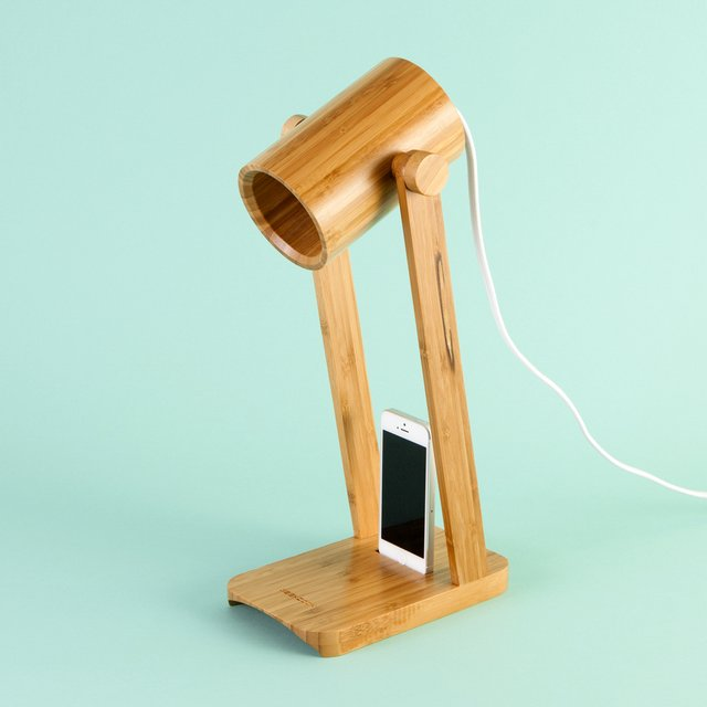 Watchman Bamboo Desk Lamp