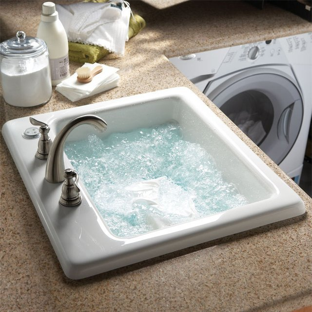 Air Jet Laundry Basin