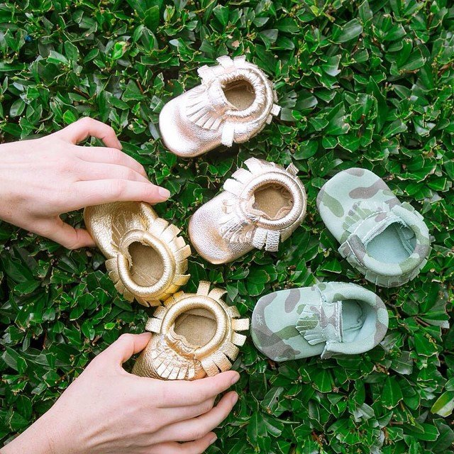 Baby Moccasins by Freshly Picked