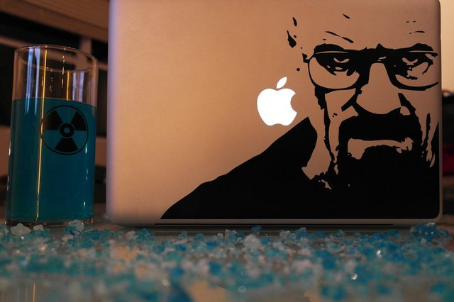 Breaking Bad Mac Decal