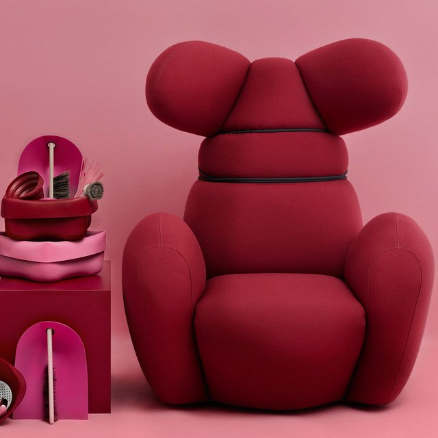 Bunny Chair by Normann Cope
