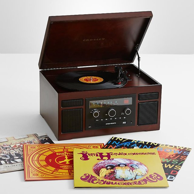 Crosley Patriarch Record Player + Converter