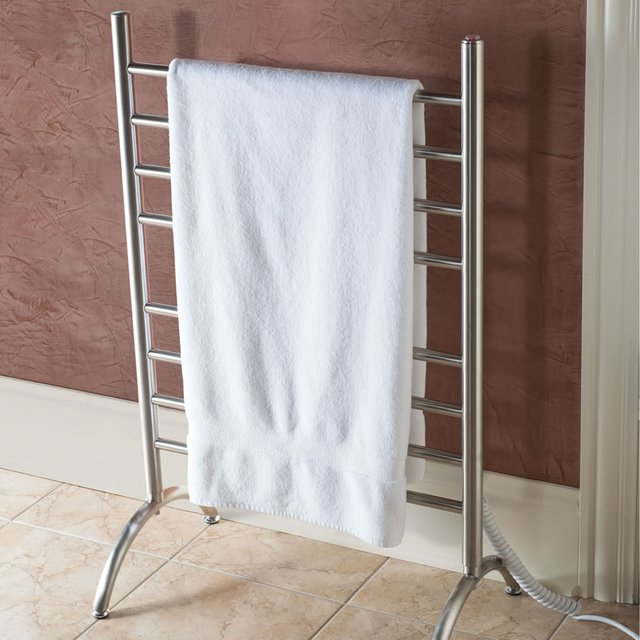 Freestanding Heated Towel Rack