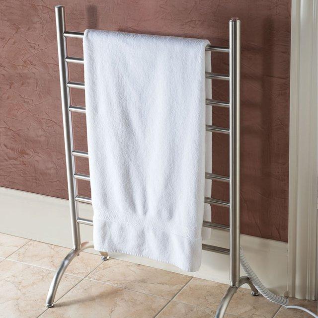 Freestanding Heated Towel Rack