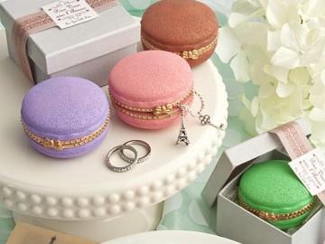French Macaron Trinket Box