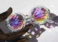 H0les PIXEL Kaleidoscope Glasses