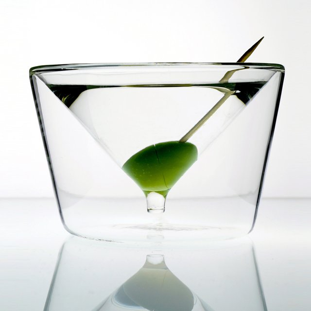 InsideOut Martini Glass