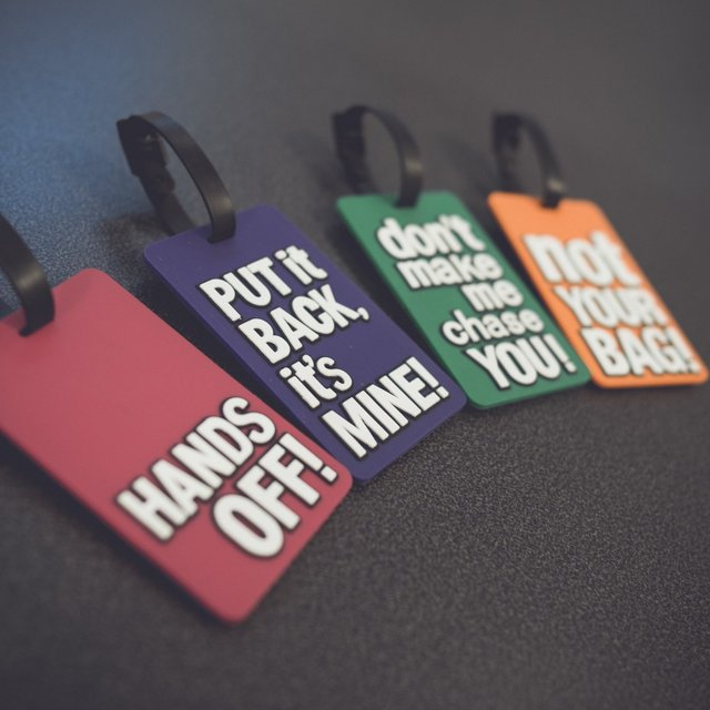 Luggage Tag Fun by Unikia